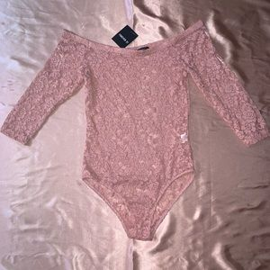 Tops - NWT Sexy Lace Bodysuit